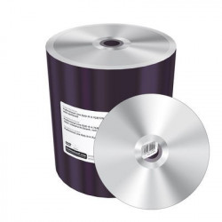Prof. Line DVD-R 4.7GB 120min 16x, silver, unprinted/blank, wide sputtered, Shrink 100