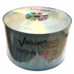 DVD-R Traxdata Value Pack 16x Branded F1 Dye - Pack 50