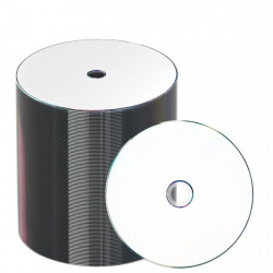 MBi Prof. DVD-R 4.7GB 120min 16x, inkjet FF printable, Proselect white, Shrink, Cake 100