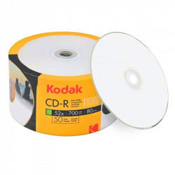 Kodak CD -R 52X Full surface Printable inkjet 80m/700MB K1230150