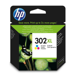 HP 302XL TRICOLOR CARTUCHO DE TINTA ORIGINAL F6U67AE