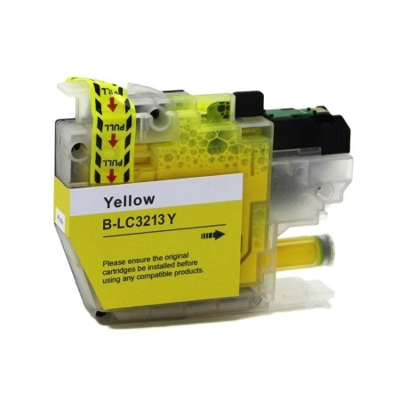 BROTHER LC3213 LC3211 V2 AMARILLO GENERICO LC-3213Y LC-3211Y