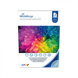 MediaRange DIN A4 Photo Paper for inkjet printers, matte-coated, 105g, 100 sheets