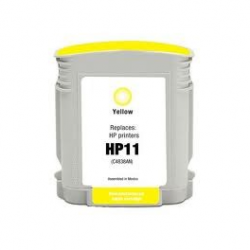 HP 11 Cartucho Amarillo Compatible C4838A