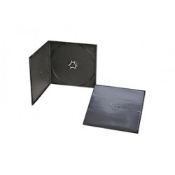 Pack 200 CD/DVD Box 5.2mm Half Size for 1 disc