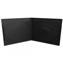 Estuche CD/DVD 7mm, Pocket-Sized, 1 Disco, negro