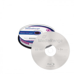 MediaRange Regravável BD-RE 25GB 2x speed, rewritable, Cake 10