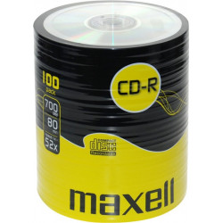 CD-R Maxell 52x 700MB/80M SH, 100 Pack
