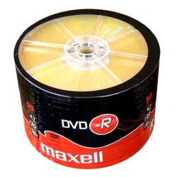 DVD-R Maxell 4.7GB 16x - 120m - Pack 50