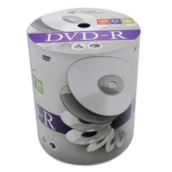 DVD-R Xlayer 4.7GB - 120M 16X speed Pack 100