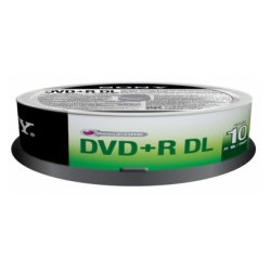 DVD+R Sony 8,5GB Double Layer 8x Pack 10