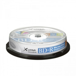 BD-R Xlayer DL 50GB 4x Printable Pack 10
