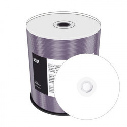 MediaRange DVD-R 4.7GB 120min 16x speed, inkjet fullsurface printable, Cake 100