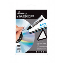 MediaRange CD/DVD/BluRay Disc Repair gel 5g with polishing cloth