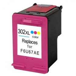 HP 302XL Color REMANUFACTURADO (F6U67AE)