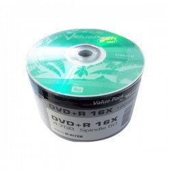 DVD+R Traxdata Value Pack 16x | 4,7Gb - Pack 50