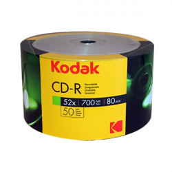 Kodak CD-R 700MB|80min 52X Pack 50
