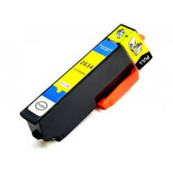 Ink Epson 26XL - T2634 - T2614 Yellow Compatível